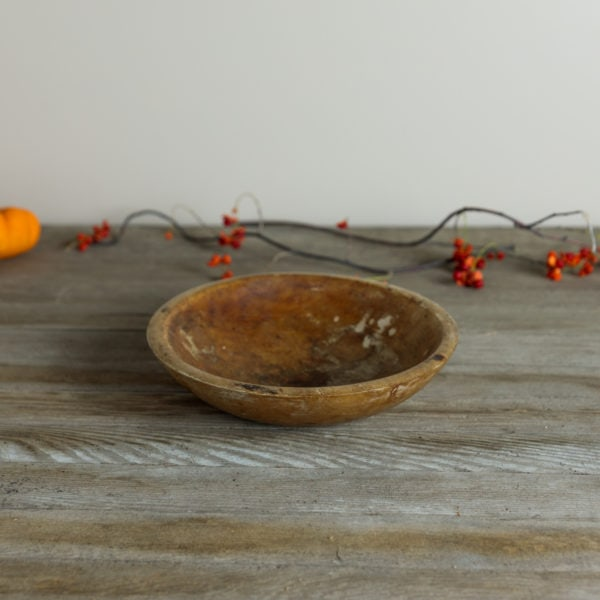"""9"""" Wooden Bowl   Wyse Guide"""